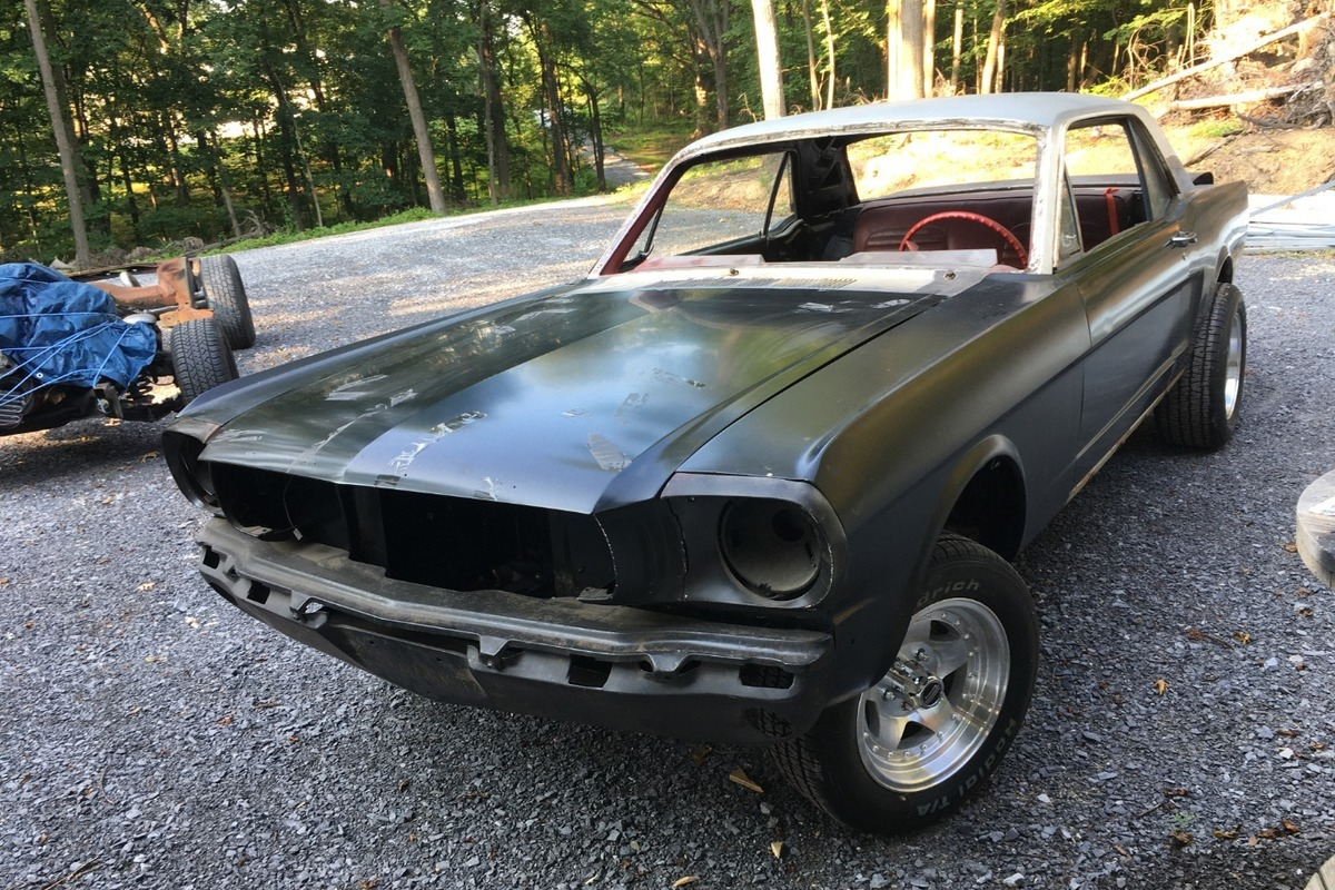 1965 ford mustang, 1
