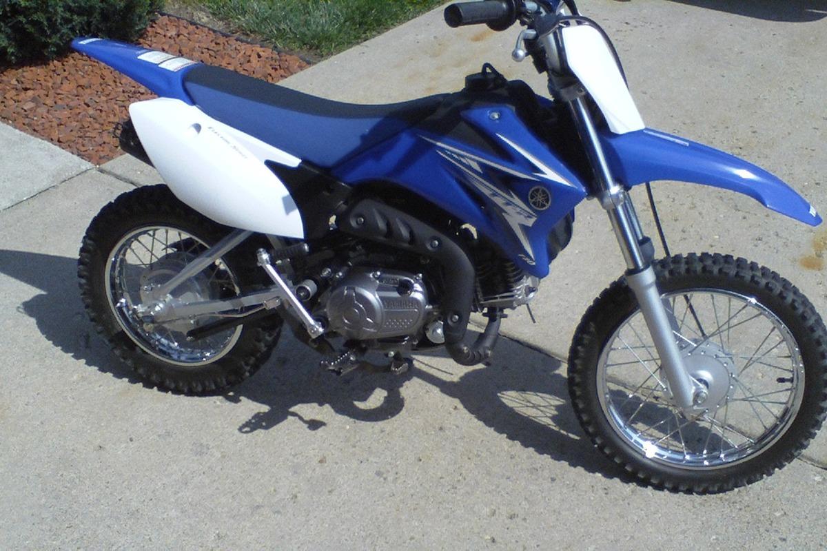 2009 Yamaha TT-R110EY, 1
