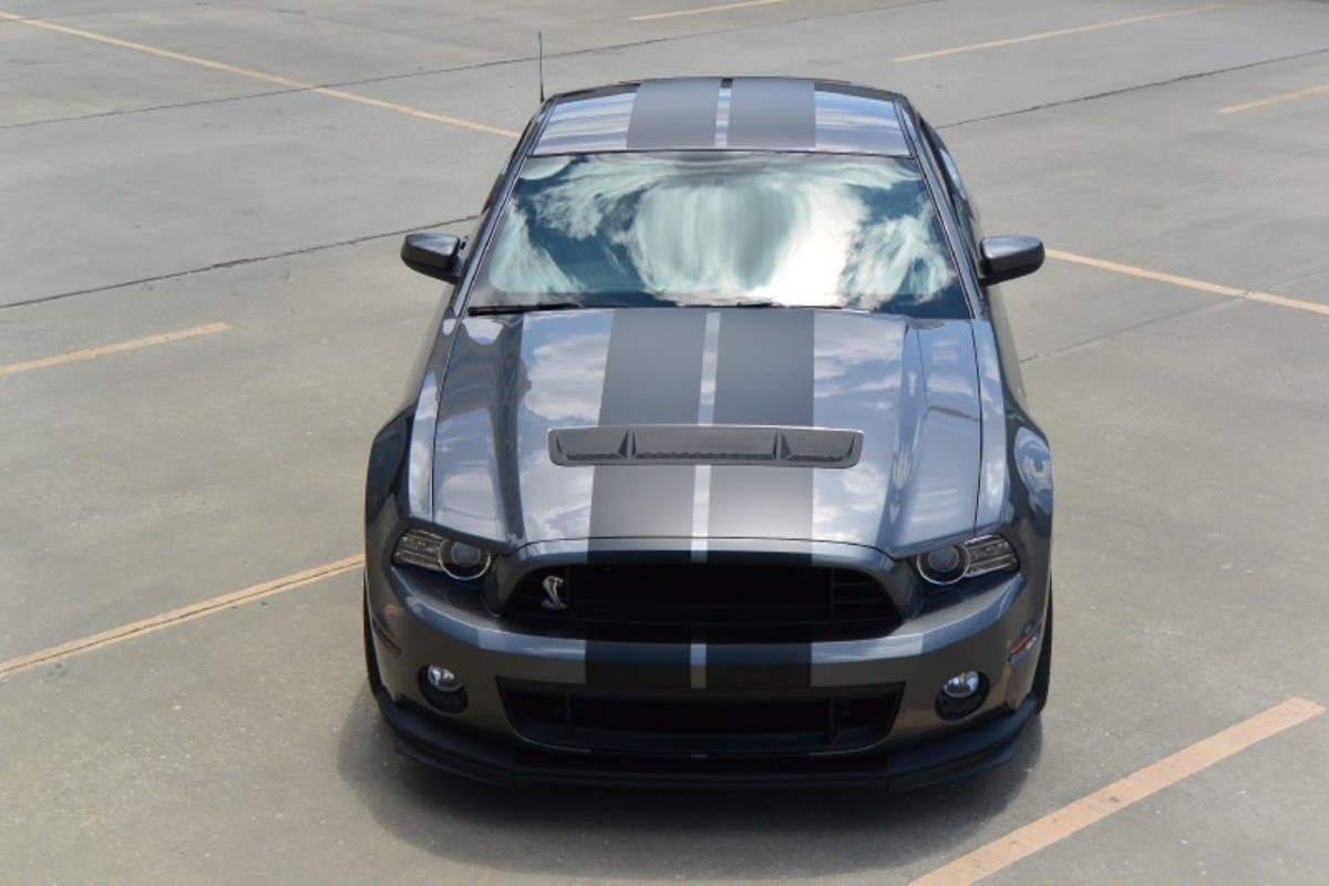 2013 Ford Mustang Shelby GT500, 9