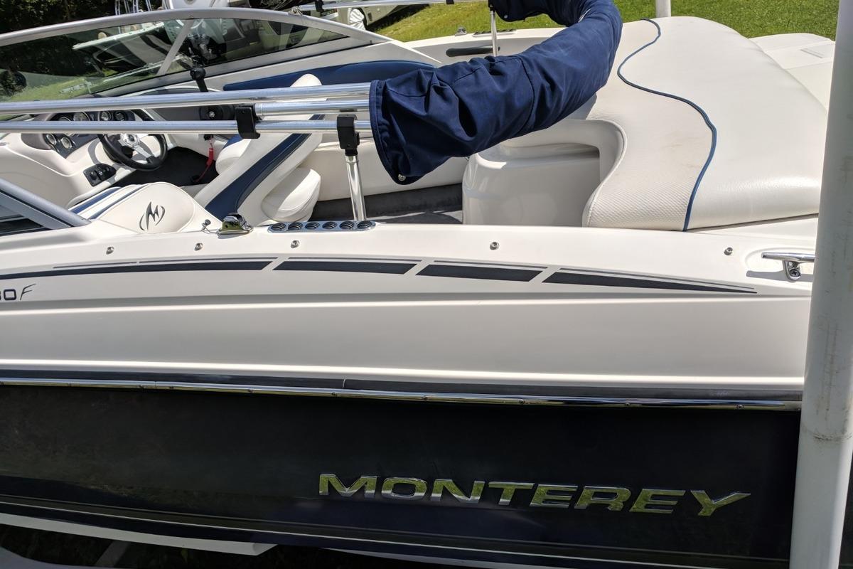 2008 Monterey  Bowrider MERCRUISER!! TRAILER INCLUDED!! 180FS, 4