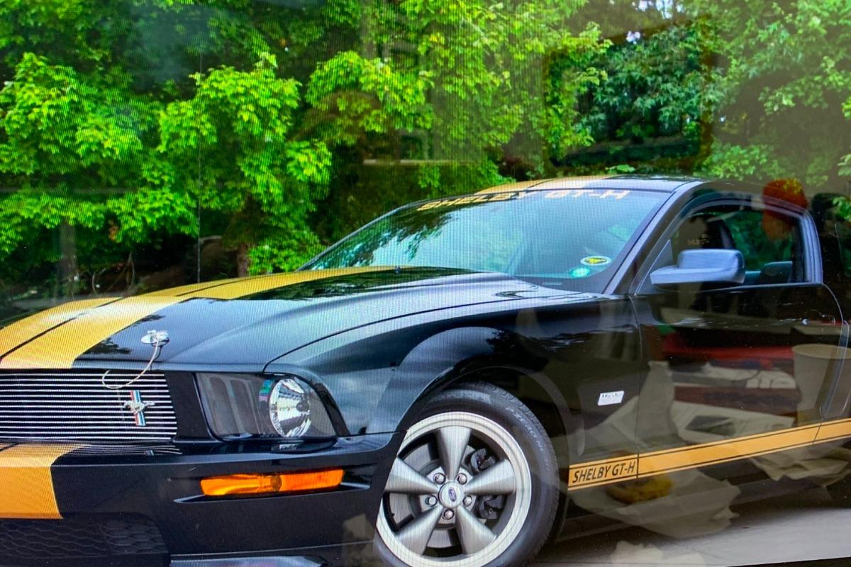 2006 Ford Mustang Shelby GT-Hertz, 2
