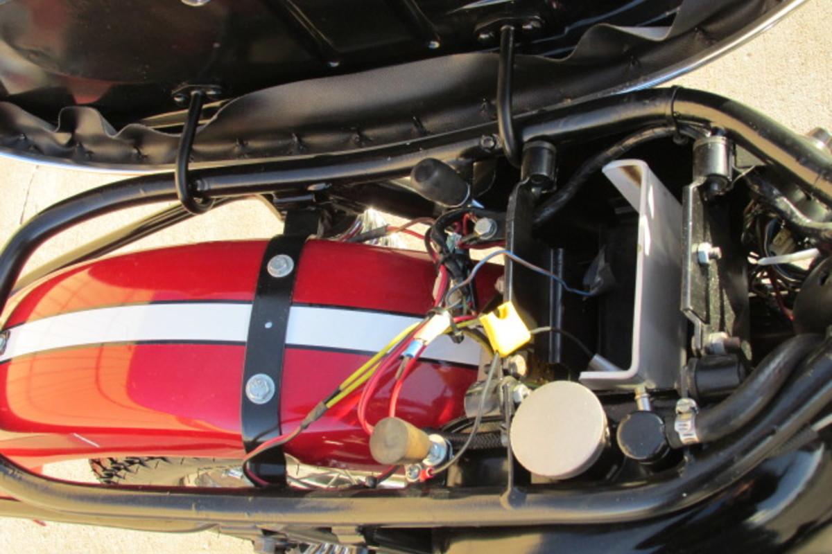 1966 Triumph Tiger 650cc, 9