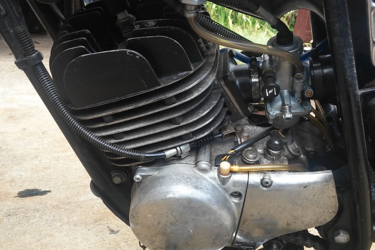 1975 Yamaha DT175, 10