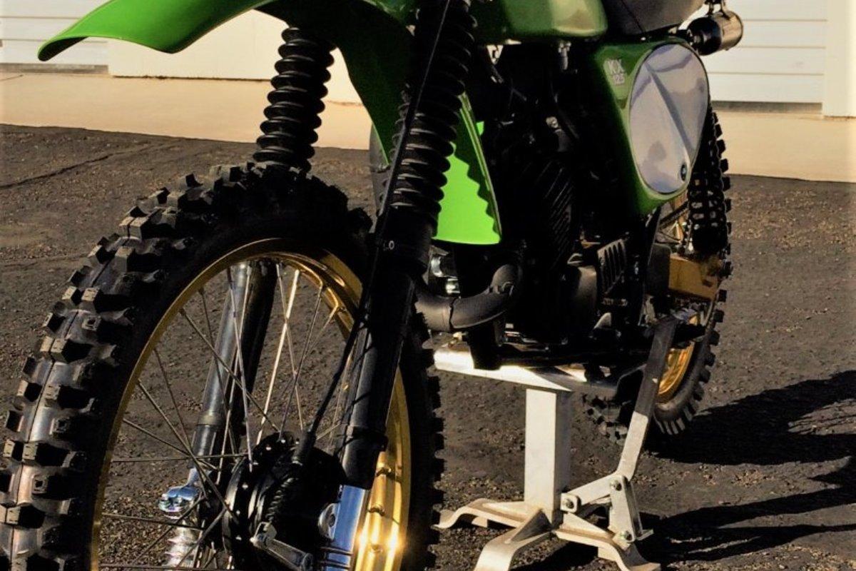 1978 Kawasaki A4 KX 125, 2