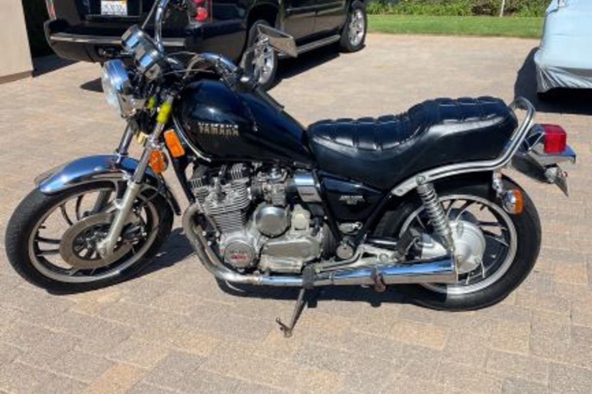 1982 Yamaha Xj650 MAXIM, 0