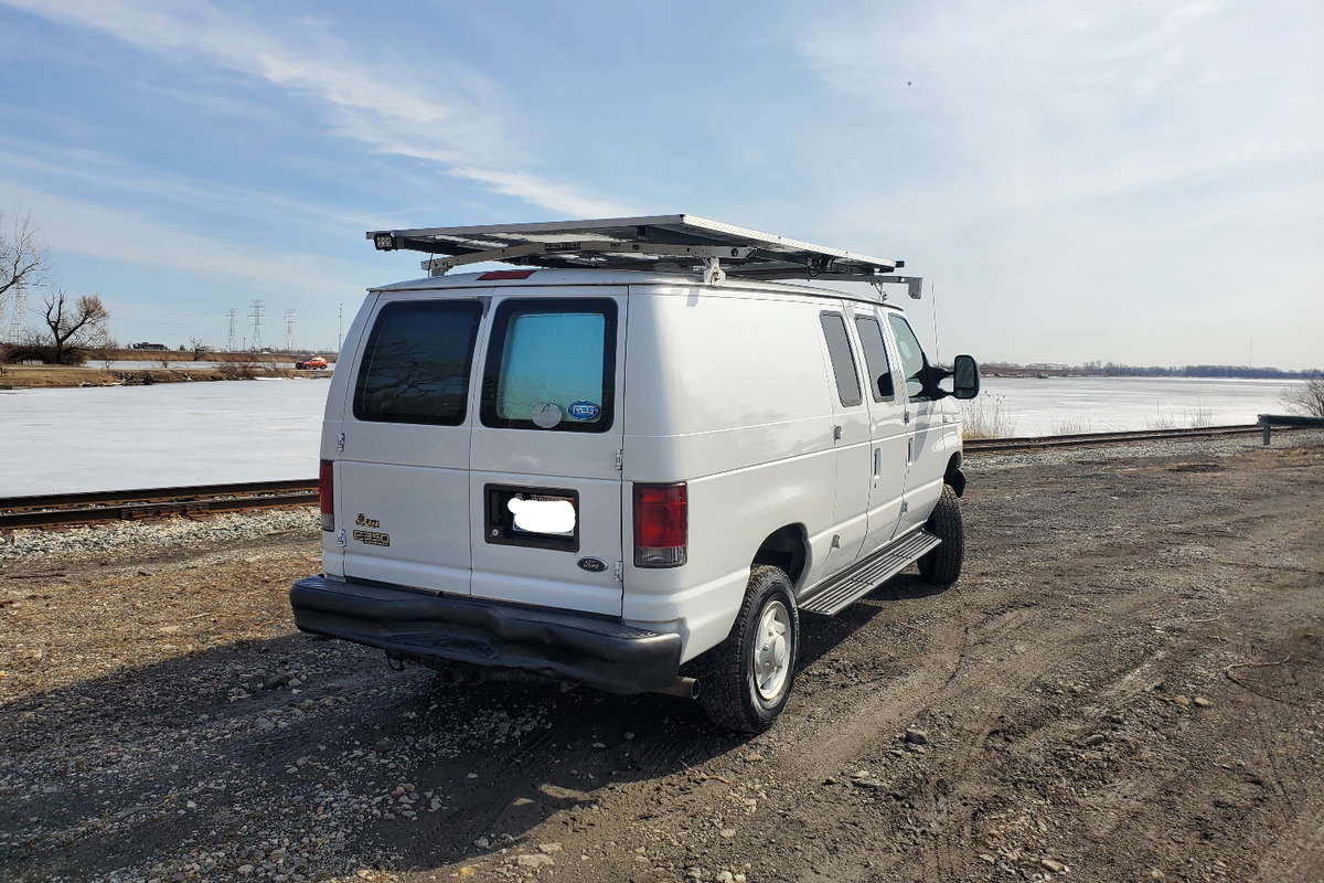 2007 Quigley 4x4 Ford E250 Stealth Camper Van Quigley 4x4 Ford E250  Stealth Camper Van, 1