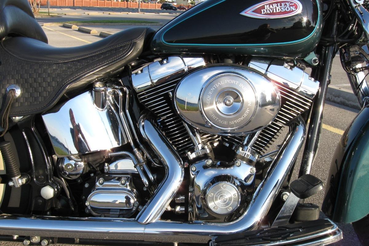 2001 Harley Davidson heritage springer flstsi in Fort ...