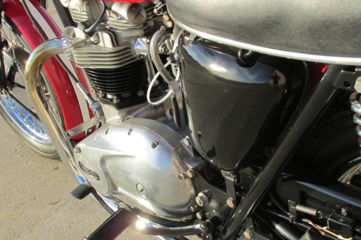 1966 Triumph Tiger 650cc, 4