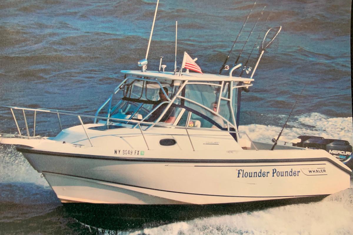 1998 Boston Whaler Conquest 230, 0