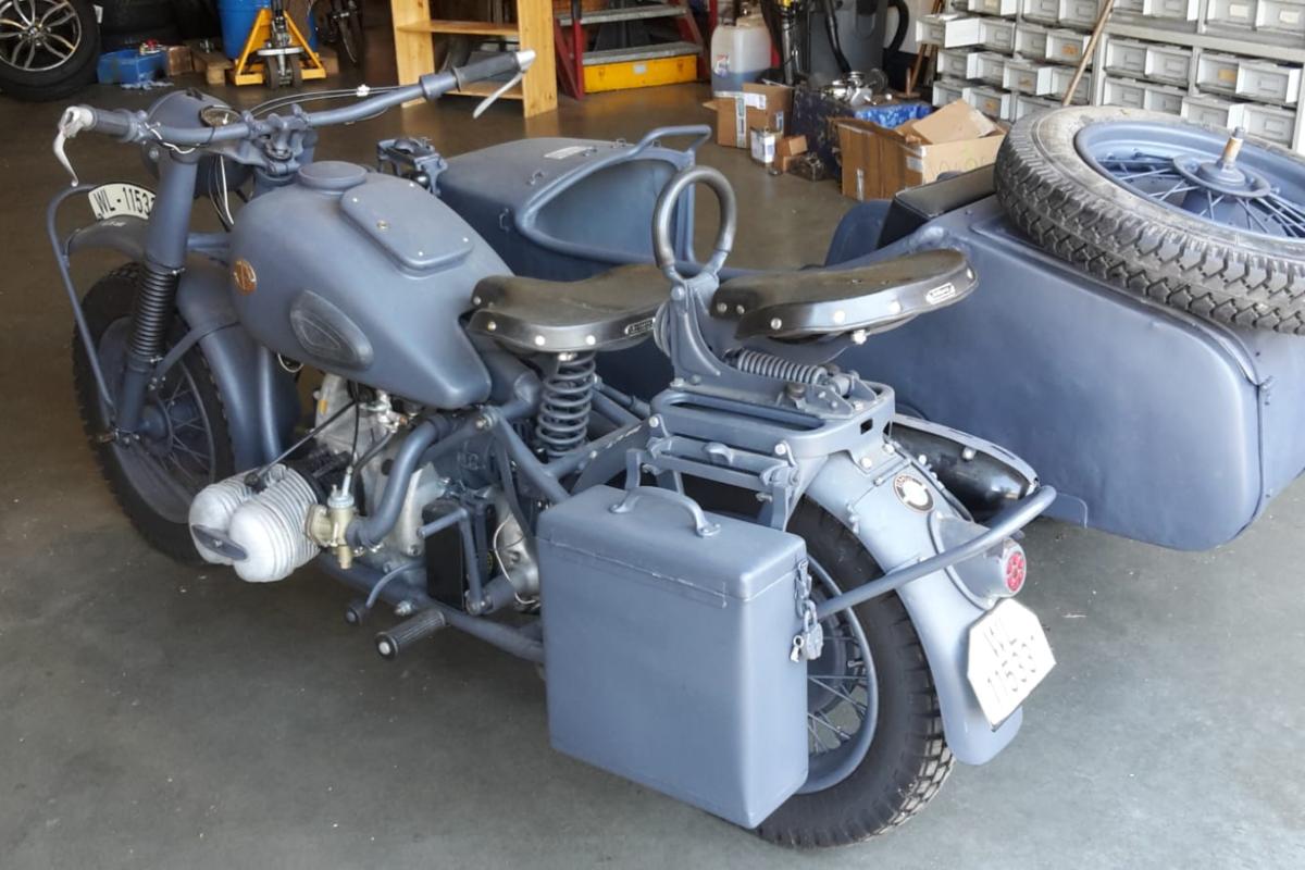 1943 BMW R75, 0