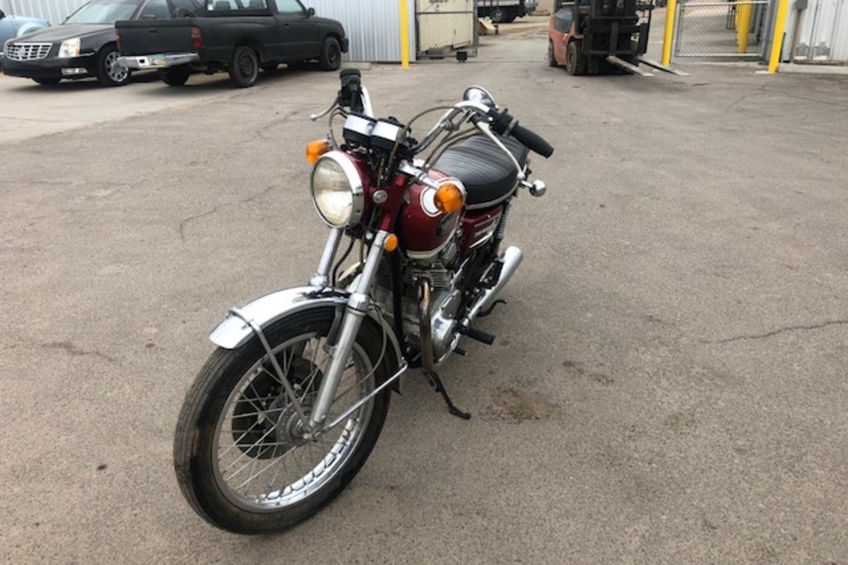 1972 Yamaha XS650, 0