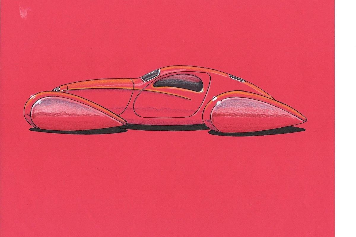 1937 Bugatti replica Type 57s, 3