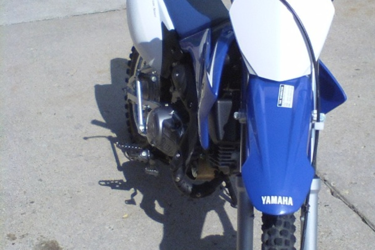 2009 Yamaha TT-R110EY, 2
