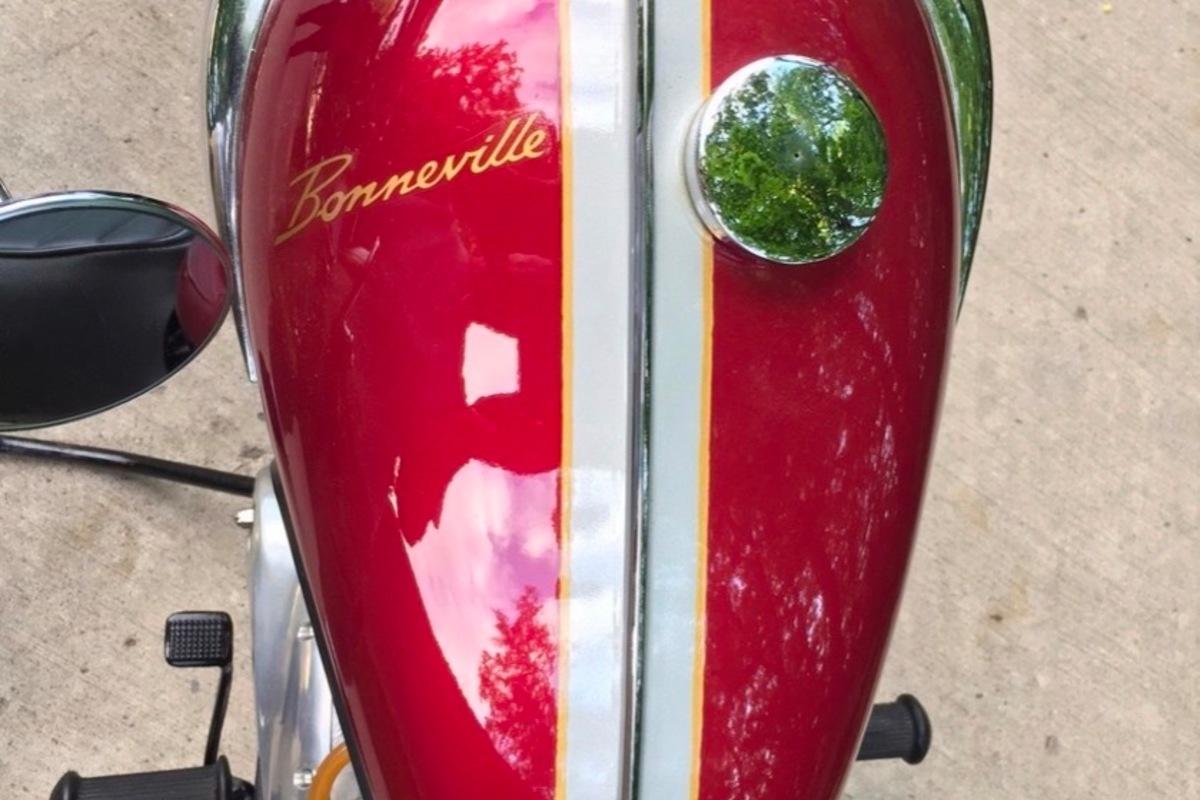1968 Triumph Bonneville T120R, 9