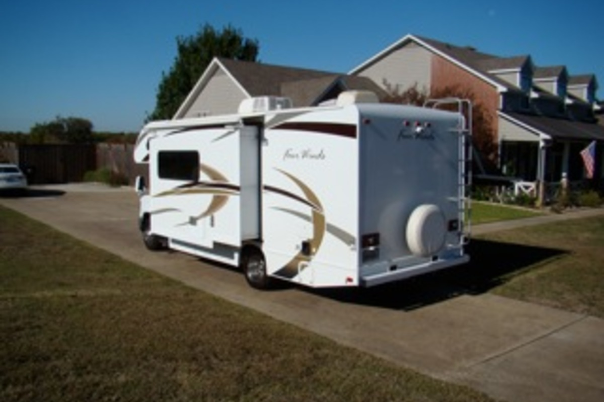 2013 Thor Four Winds 24C, 7