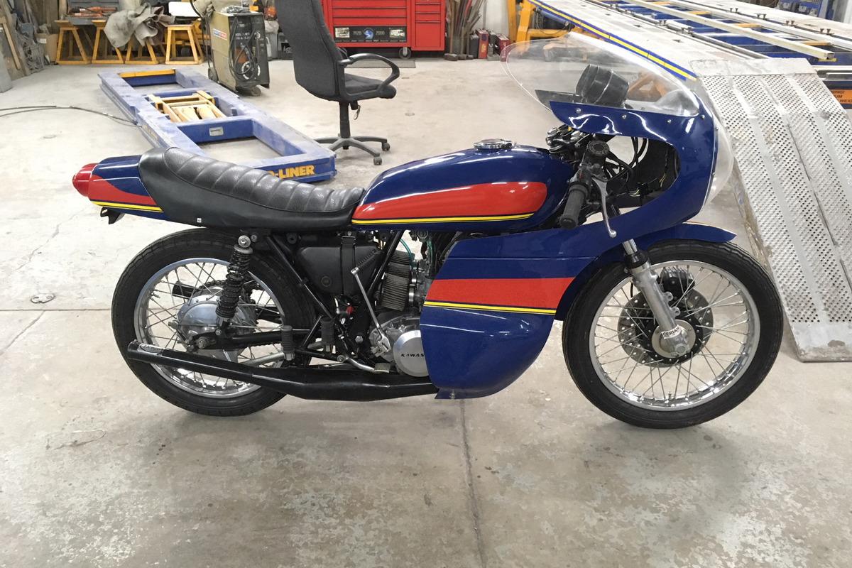 1974 Kawasaki H1E, 9