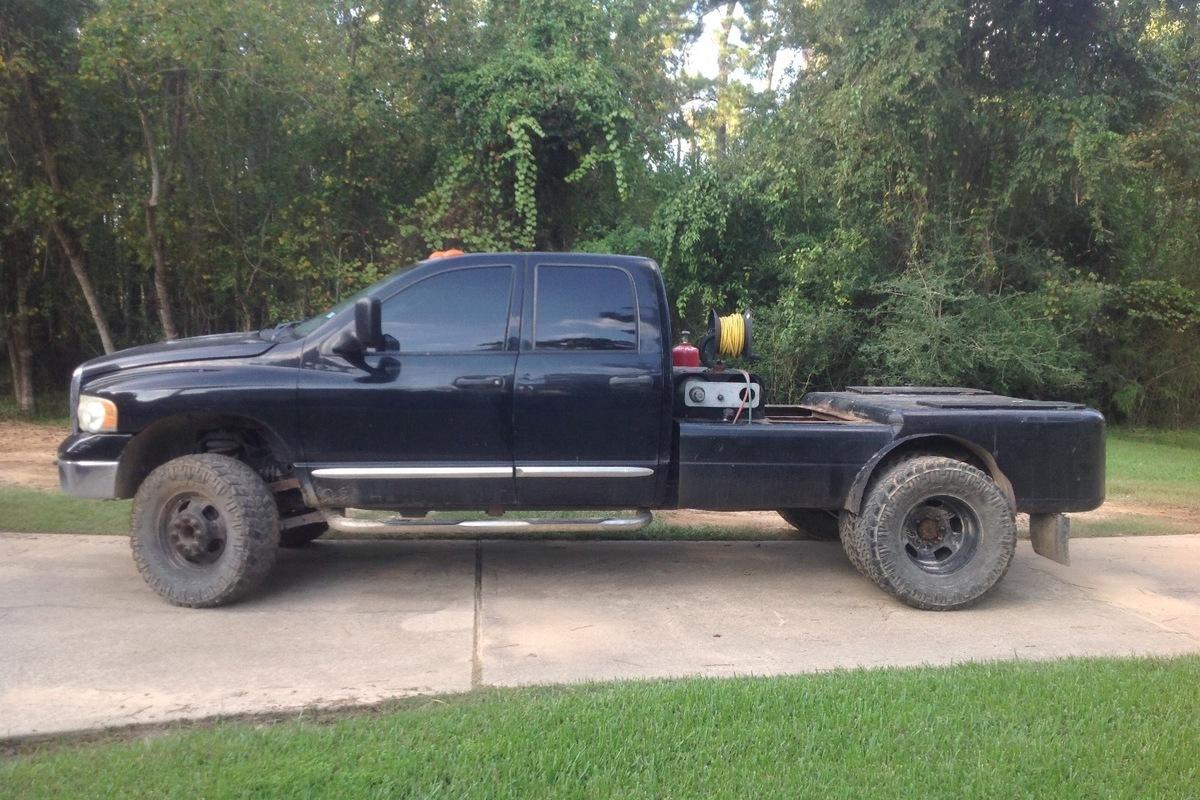 2004 Dodge Ram 3500 Black, 5