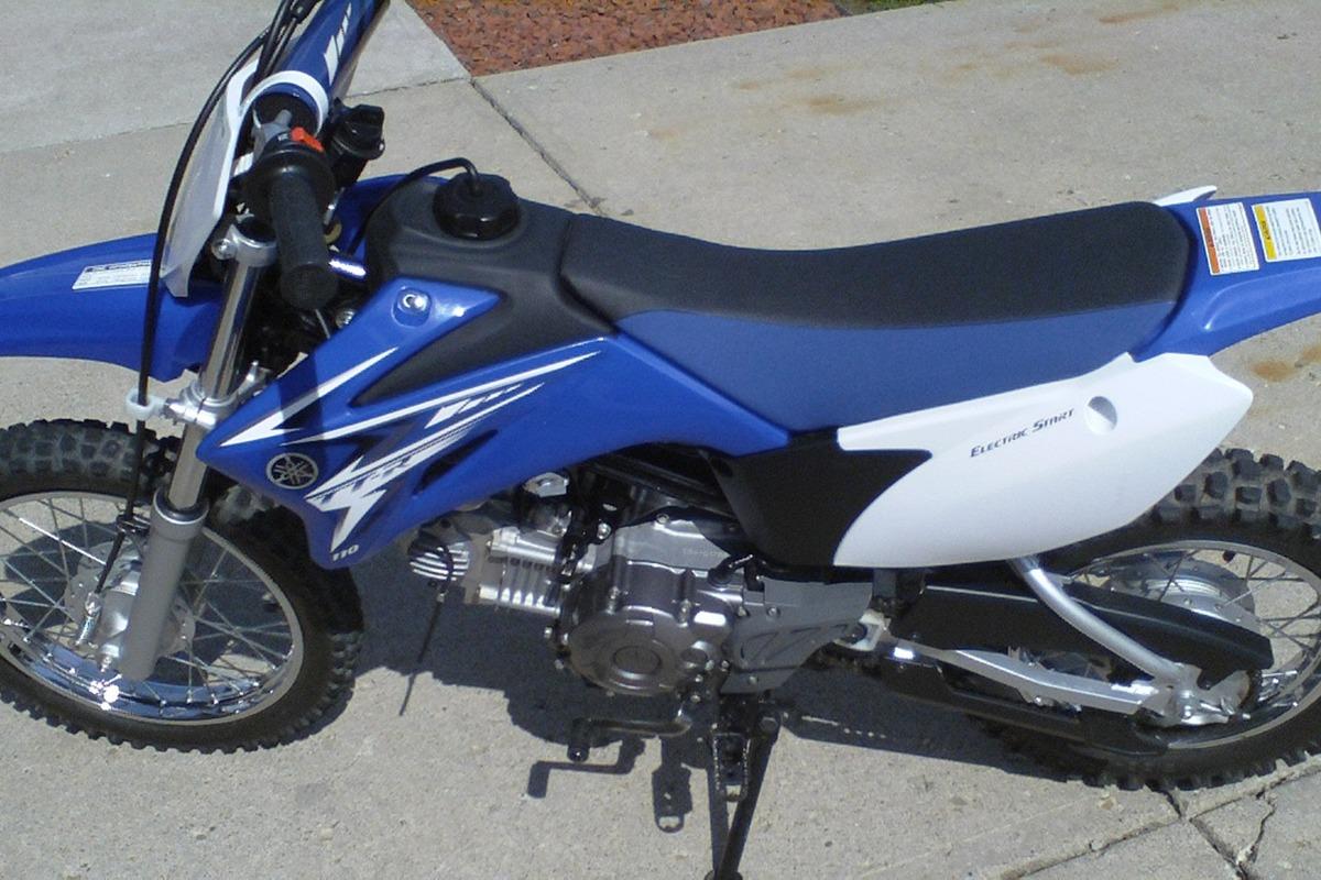 2009 Yamaha TT-R110EY, 3