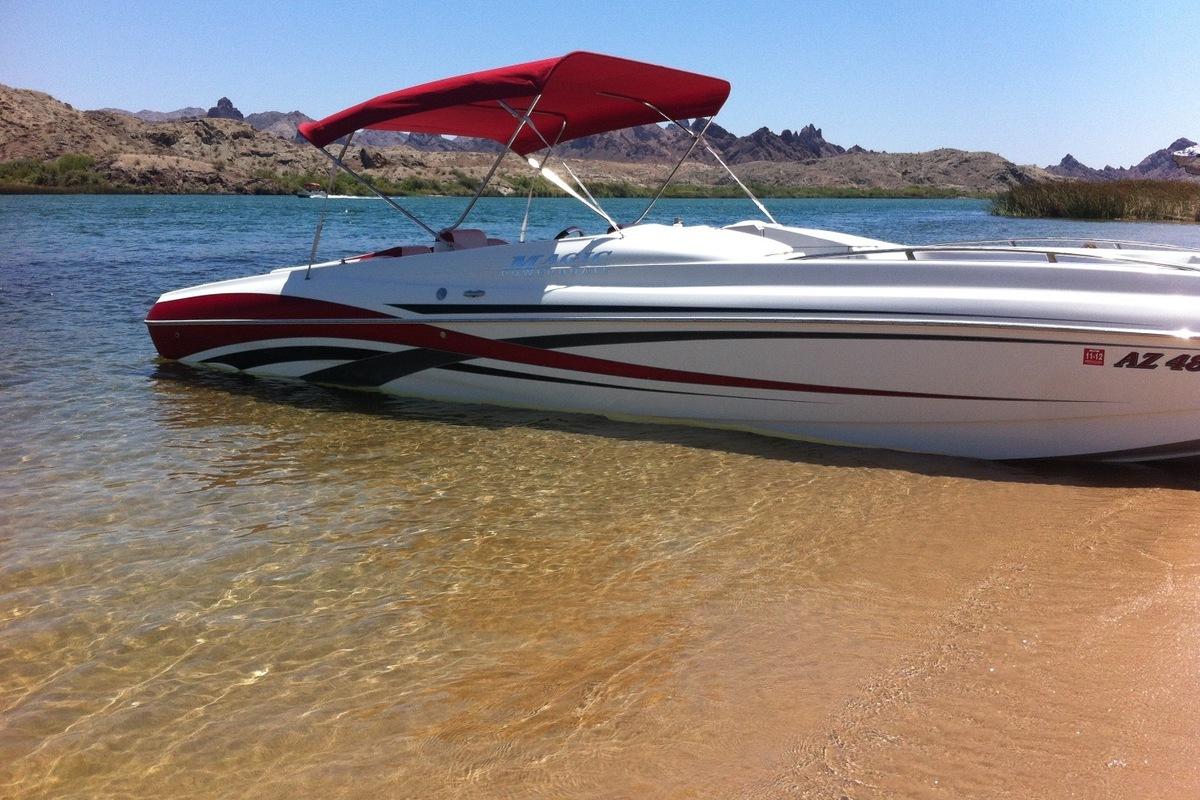 2009 Magic 28' Deckboat, 0