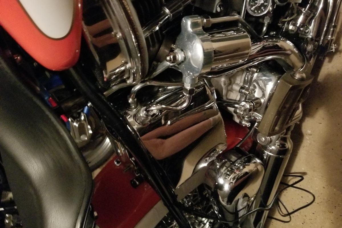 1956 Harley-Davidson Panhead, 6