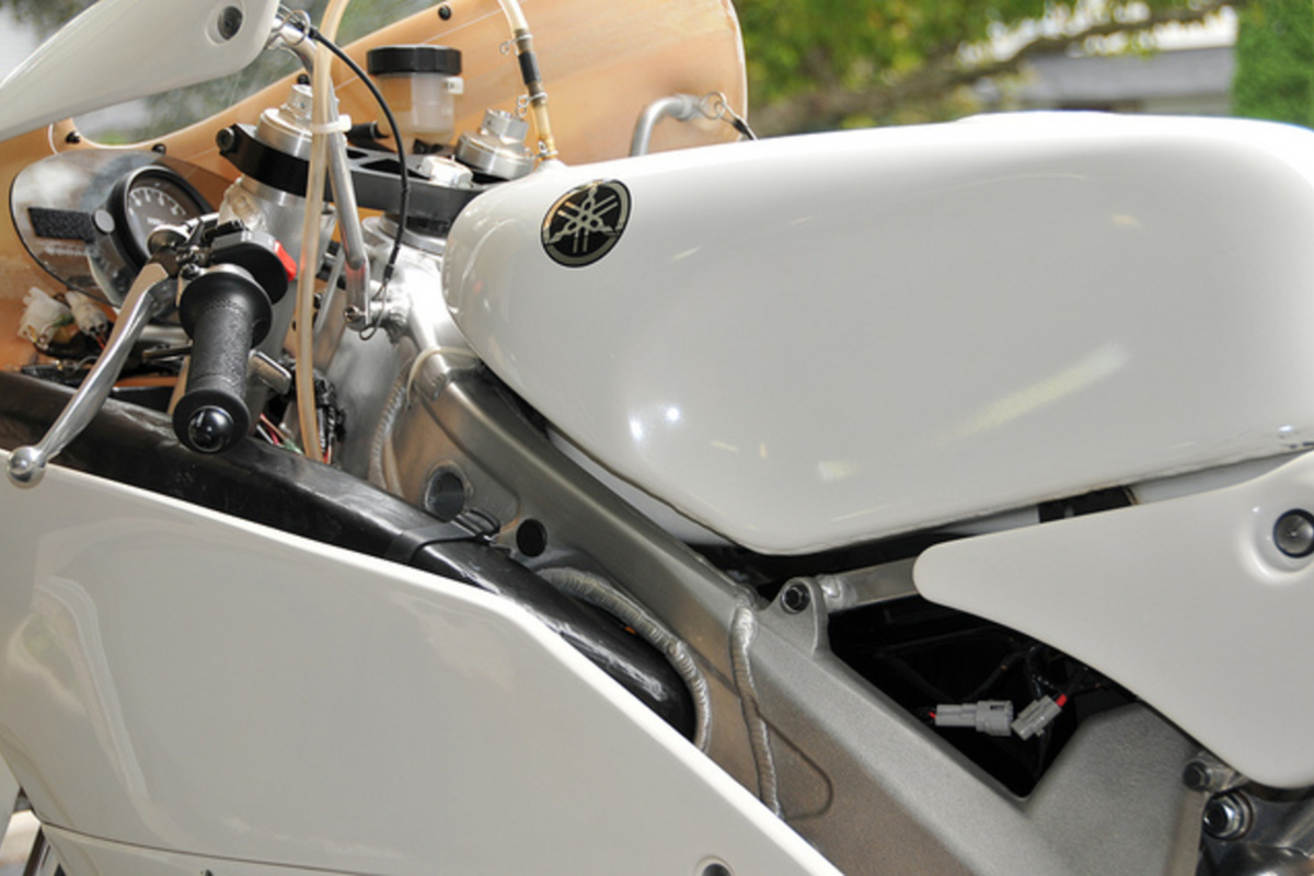 2009 Yamaha TZ250 5KE, 5