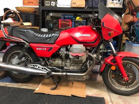 1984 Moto Guzzi T5