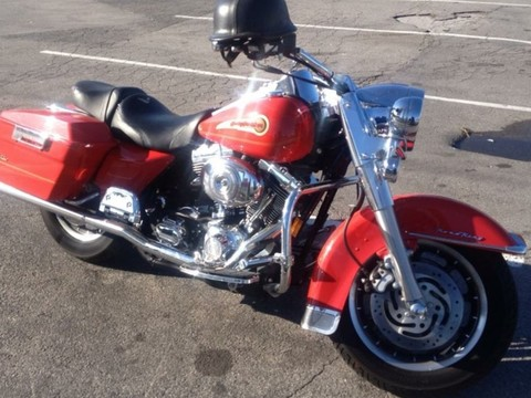 2004 Firefighter Edition Harley Davidson Road King FLHRI