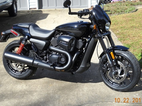 2017 Harley Davidson XG750A Street Rod