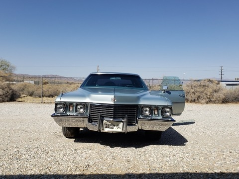 1972 Cadillac Fleetwood Sixty Six Special Brougham