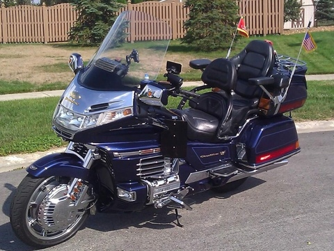 2000 Honda Goldwing GL1500 SE 25th Anniversary