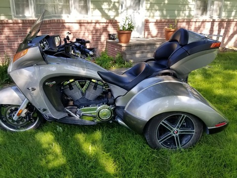 2013 Victory Vision with Lehman Crossbow trike conversion