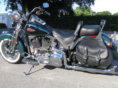 2001 Harley-Davidson heritage springer (flstsi)