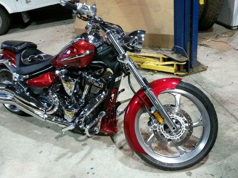 2008 Yamaha Raider S