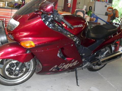 2001 Kawasaki ZX11OO