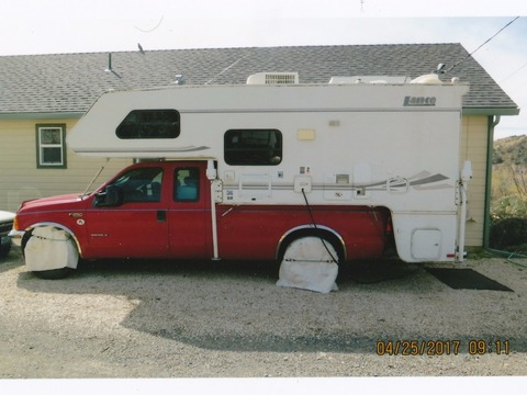 2002 lance truck camper 1030 fiber