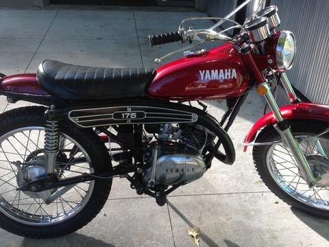 1972 YAMAHA CT 175