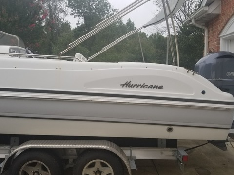 2016 Hurricane Boats 231 CC