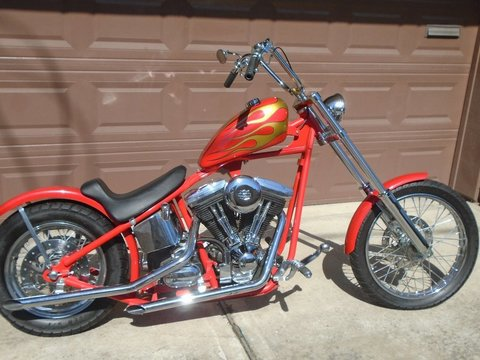 2012 Custom Professionally Built Chopper