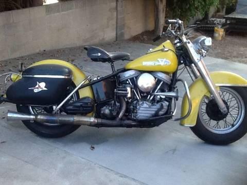 1955 Harley-Davidson FL Panhead