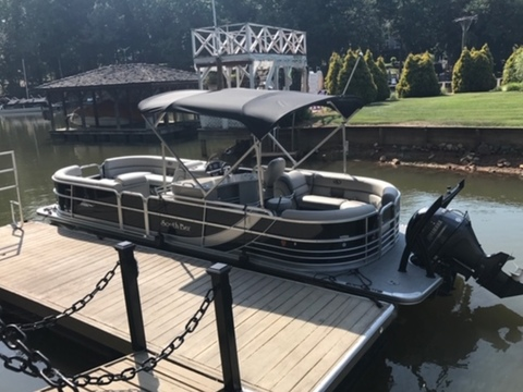 2016 SOUTH BAY PONTOON 524E