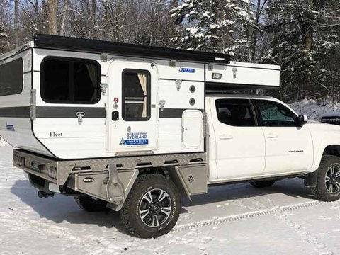 2018 Four Wheel Camper Fleet Flatbed