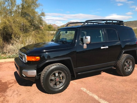 2007 Toyota Special Edition TRD FJ Cruiser TRD Limited Edition (only 320 made)