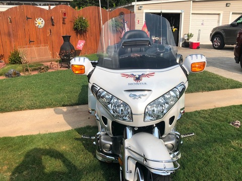 2008 Honda goldwing trike 1800cc