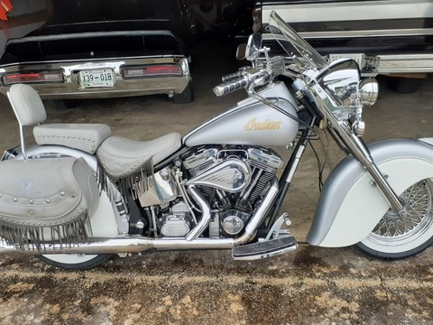 2000 Indian Chief Silver Cloud