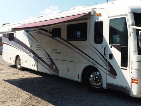 2002 American  Coach American  Eagle 40EQS    1Owner!! 37,512 Miles!!