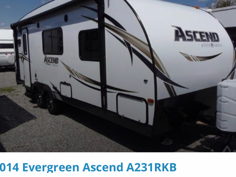2014 Evergreen Ascend A231RKB