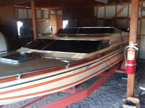 1981 SKV Cabin Day Cruiser