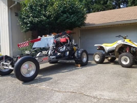 1973 VW - Honda Turbocharged Civic sandrail dune buggy sand rail