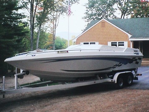 2001 Ultimate Warlock 27' World Class Race Boat