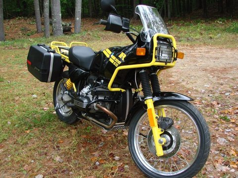 1993 BMW R100 GS Bumblebee